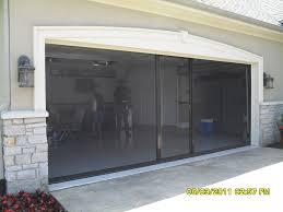 Exterior Garage Door by Garage Wonderful Garage Screen Door Ideas Retractable Garage Door