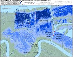 New Orleans Garden District Map by Urban Decay Hurricane Katrina 10 Year Anniversary The Lower