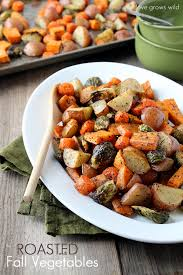 roasted fall vegetables grows