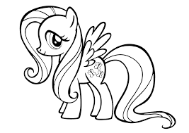 my little pony fluttershy coloring pages my little pony fluttershy