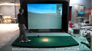 golf simulator home theater golf simulator accuracy test trugolf based from fore simulators