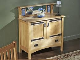 Mission Style Nightstand Plans Arts And Crafts Mission Plans
