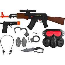 kids army kids ak 47 swat set with accessories kids army com