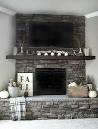 Amazing Fireplace Stone Panels Small by Best 25 Corner Stone Fireplace Ideas On Pinterest Stone