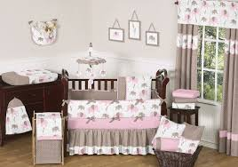 Pink Elephant Nursery Decor Baby Nursery Astounding Baby Nursery Room Decoration Using