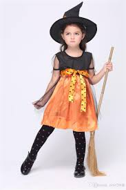 halloween costumes toddler kids cosplay costumes halloween witch pumpkin costumes children