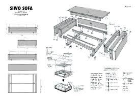 sofa sofa construction plans beautiful home design marvelous
