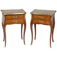Bed Side Tables by Pair Of Belle Epoque Period Bedside Tables Belle Epoque Night
