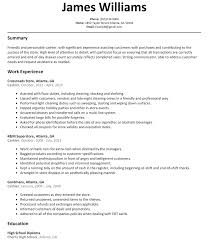 resume exles objective sales clerk description duties resume template supermarket cashier retail summary grocery store