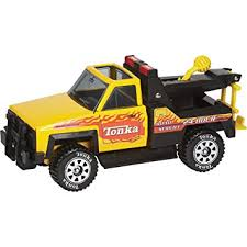 Tow Truck Business Cards Amazon Com Tonka Classic Steel Toy Tow Truck Toys U0026 Games