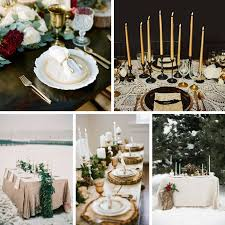 5 magical winter wedding tablescapes chic vintage brides