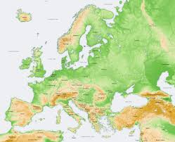 Late Medieval Europe Map by How Inbred Are Europeans Jayman U0027s Blog