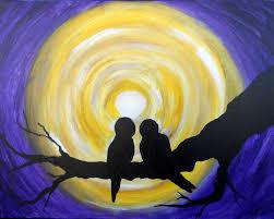 moonlight love pinot u0027s palette painting