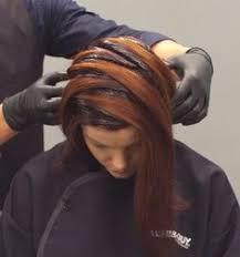 hair color and foil placement techniques shattered fringe foil placement hair color pinterest hair