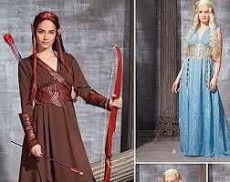 Lord Rings Halloween Costume Hobbit Dress Etsy