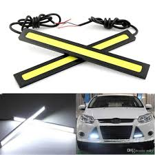cob led light bar 2018 high quality 17cm dc 12v cob led car light daytime running