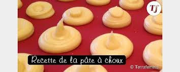 recette de cuisine m6 le meilleur pâtissier la recette de la pâte à choux