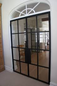 iron french doors door decoration