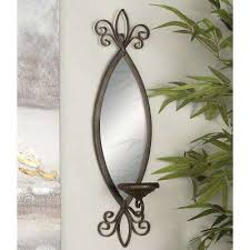 Mirror With Candle Sconces Wall Decor Candle Holders Candles U0026 Home Fragrance The Home