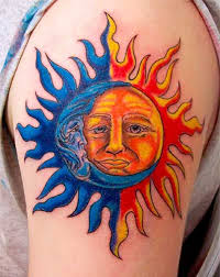 sun and moon tattoos rebel circus
