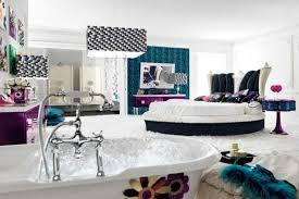 chambre style moderne chambre bleu canard et associations ou accessoires