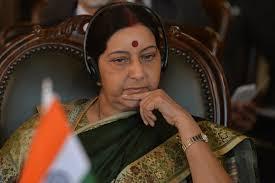 Seeking Pune Sushma Swaraj Slams Pune Seeking Transfer For On