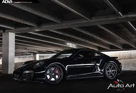 porsche turbo 997 black porsche 997 turbo s adv6 track spec sl wheels