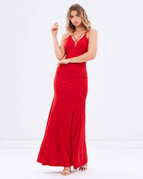 bariano dresses forget me not v neckline gown by bariano online the iconic