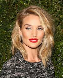 rosie huntington side parted lob pin by nicole rosa on hair pinterest lob lob haircut and haircuts
