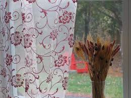 Sheer Embroidered Curtains Production Gallery