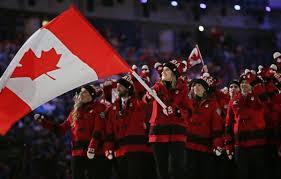 Canadian Flag 1960 Team Canada U0027s Past Olympic Winter Games Flag Bearers Team Canada