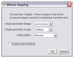bilinear map bilinear mapping tutorial