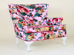 pink accent chair pink floral accent chair pink salon styling