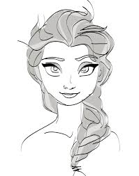 sketches frozen characters
