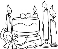 cake coloring pages 10