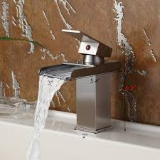 bathroom waterfall bathtub faucet kohler bathroom sink faucets