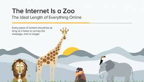 what u0027s the ideal length for social media and web content