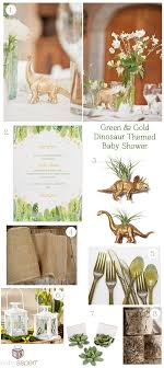 dinosaur baby shower baby shower inspiration green gold dinosaur shower baby aspen
