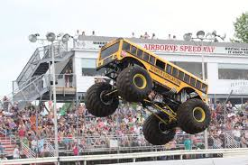 bus monster truck videos michael vaters builds monster bus called higher education