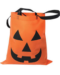 trick or treat pumpkin bag jack u0027o u0027lantern fabric bag horror