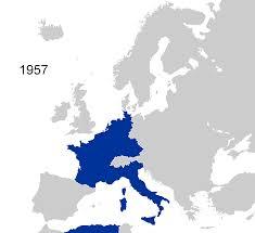 European Union Map European Union 1957 2007 Full Size