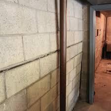 bowing basement walls a1 concrete leveling