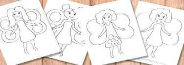 fairy coloring pages itsy bitsy fun