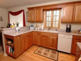 kitchen modern backsplash with wooden cabinets decor also large