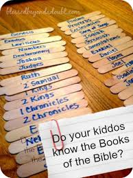 a fun way to learn the books of the bible free printable books