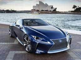 blue lexus lexus lf lc blue concept 2012 picture 7 of 23