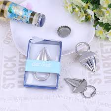 wine stopper wedding favor silver sailing bottle opener openers bar tools party