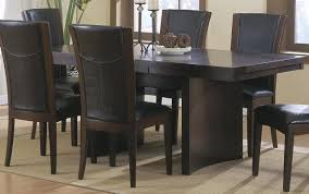 homelegance daisy rectangular extension dining table in espresso