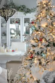 Frosted Christmas Tree Sale - 25 unique flocked christmas trees ideas on pinterest white