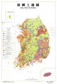 Map Of South Korea The Soil Maps Of Asia Display Maps